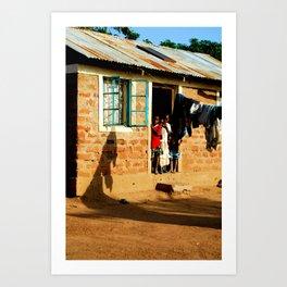 Kenya / Kitui Kids 3 Art Print