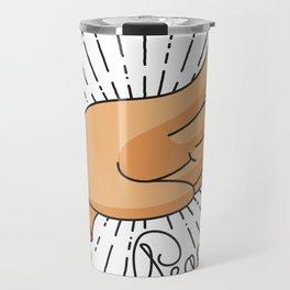 The stump of peace Travel Mug