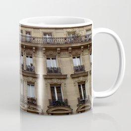 Paris apartment buildings street Coffee Mug
