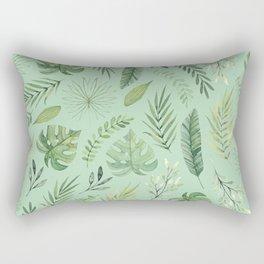 Leaves 10 Rectangular Pillow