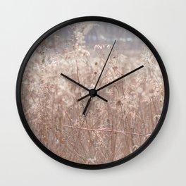 Autumn in the Prairie Wall Clock