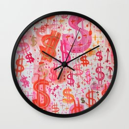 Barbie Money Wall Clock