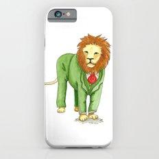 Lion in suit iPhone 6s Slim Case