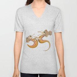Two dragons Unisex V-Neck