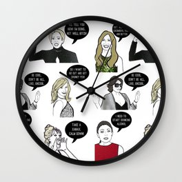 New Yorkers Wall Clock
