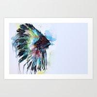 Gypsy Vibe Art Print