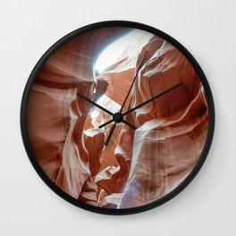ANTELOPE CANYON XXVII Wall Clock