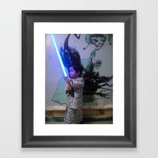 a padawan Framed Art Print