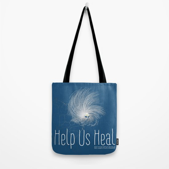 Help Us Heal - Hurricane Sandy Relief Tote Bag