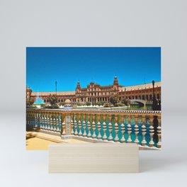 Plaza de España - Seville Mini Art Print