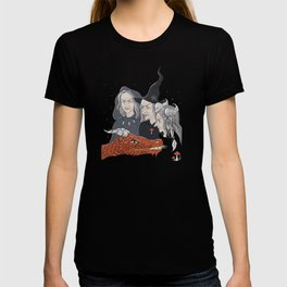 3 witches and a dragon T-shirt