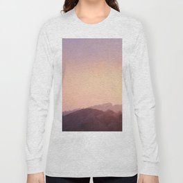Alone at Sunset Long Sleeve T-shirt