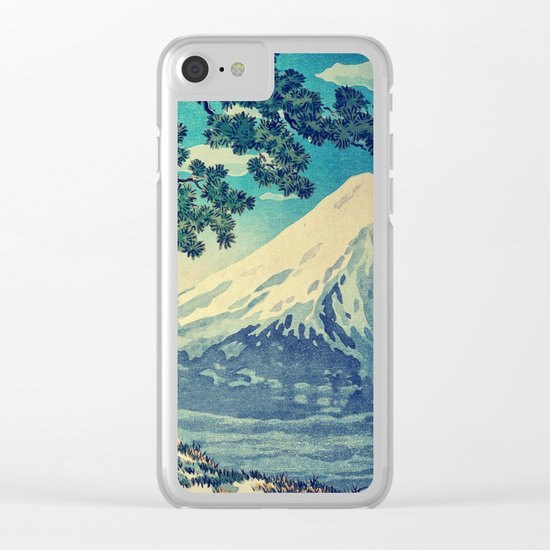 After the Snows in Sekihara Clear iPhone Case