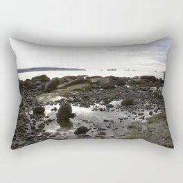 Sunset over English Bay Vancouver 2 Rectangular Pillow