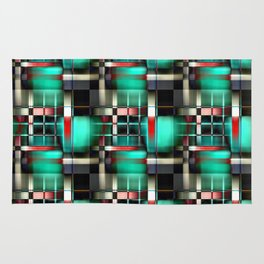 Abstract Windows Rug