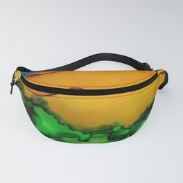 Honeycomb Mountains Fanny Pack