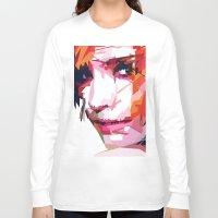 emma watson Long Sleeve T-shirts featuring Emma Watson Vector by Raditya Giga