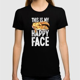 Leopard Gecko This Is My Happy Face T-shirt