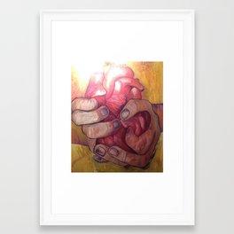 Here you Go. Framed Art Print