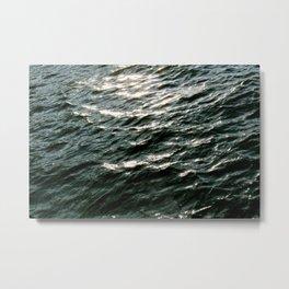 Waves No.1 Metal Print