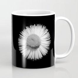 Fleabane B and W Coffee Mug