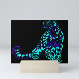 Neon Ice Mini Art Print