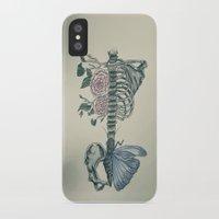skeleton iPhone & iPod Cases featuring Skeleton by ArtSchool
