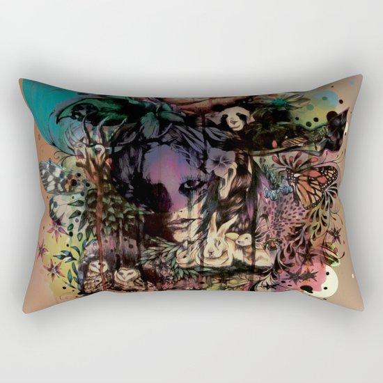Fauna and Flora Rectangular Pillow
