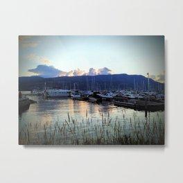 Kelowna Waterfront Marina Metal Print