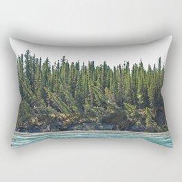 When water meets Earth Rectangular Pillow