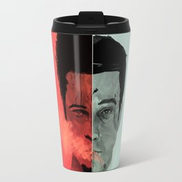 Tyler Durden V. the Narrator Travel Mug