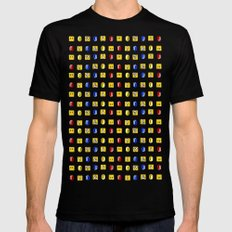 Coins, Boxes and Power ups, Oh my! MEDIUM Mens Fitted Tee Black