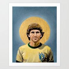 Z (1982) - Football Icon Art Print
