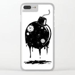 boomb Clear iPhone Case
