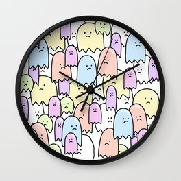 If Only As A Ghost Wall Clock