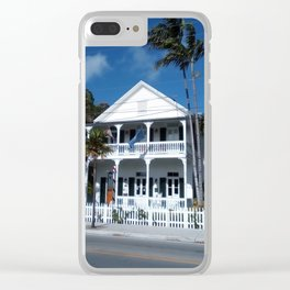 White house, Key west. Clear iPhone Case