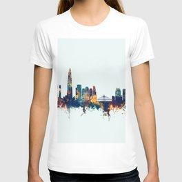 Seoul Skyline South Korea T-shirt