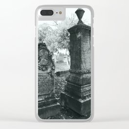 Here we Lay Clear iPhone Case