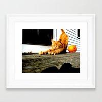 mozart Framed Art Prints featuring Mozart by Eleanor E Soule