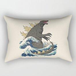 The Great Monster Off Kanagawa Rectangular Pillow