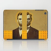 lincoln iPad Cases featuring AbracadAbraham - Lincoln by AmDuf