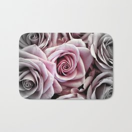Pink Rose : Pop of Color Bath Mat