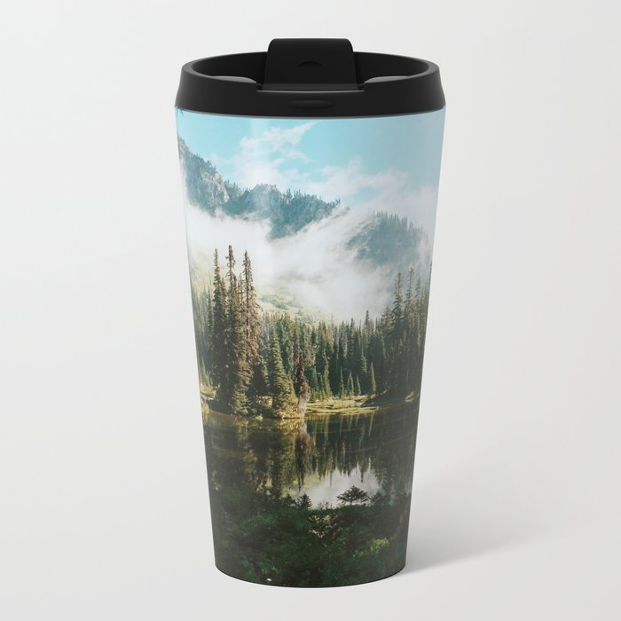 Quiet Washington Morning Metal Travel Mug