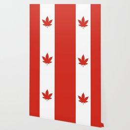 O Canada! (Hemp Flag) Wallpaper