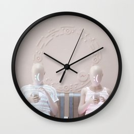 """""""Connection"""" Wall Clock"""