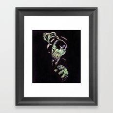 Gruesome Framed Art Print
