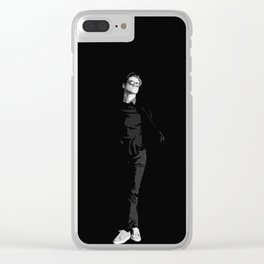Aaron Tveit 15 Clear iPhone Case