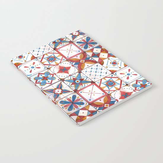 Tile pattern Notebook