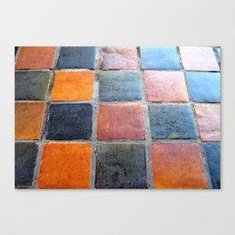 Royal Tiles Canvas Print
