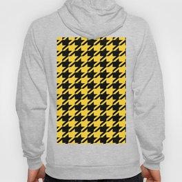 Yellow Houndstooth Hoody